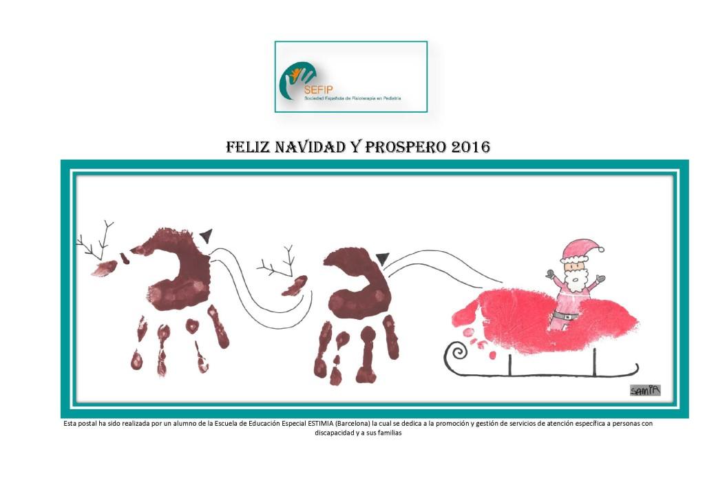 Felicitación Navidad SEFIP 2015